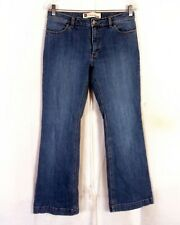 euc Gap Long and Lean Stretch Bootcut Denim Jeans medium wash SZ 8A