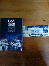GAA 2013 All Ireland SHC final Clare v Cork DRAWN match programme + ticket