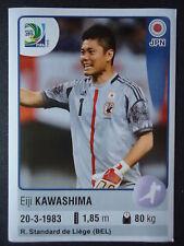 Panini 62 Eiji Kawashima Japan Confed Cup 2013 Brasilien