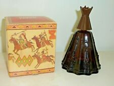 "Avon 5"" Indian Tepee Decanter from 1970's Empty Figurine Box Dollhouse (F9 64)"