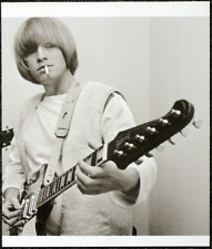 THE ROLLING STONES POSTER PAGE 1965 BRIAN JONES & GIBSON FIREBIRD GUITAR . I103