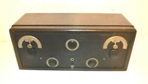 NEAR MINT 1925 CROSLEY SUPER TRIRDYN REGULAR RADIO RECEIVER