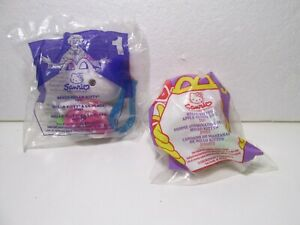 McDonald's Set Of 2 Sanrio Hello Kitty Happy Meal Toy t4694