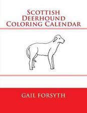 Scottish Deerhound Coloring Calendar by Gail Forsyth (2015, Paperback)