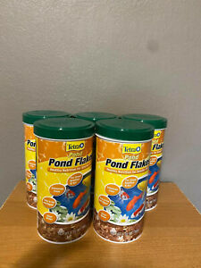 TetraPond 16210 Flaked Fish Food, 6.35-Ounce NEW 5 pack