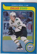 2008 08-09 O-Pee-Chee 1979-80 Retro Rainbow #760 James Neal RC-parallel 42/100