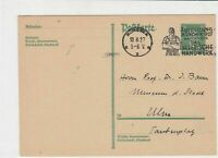 Germany 1927 Exhibition of  handcrafts special cancel Stamps Card ref R 16312