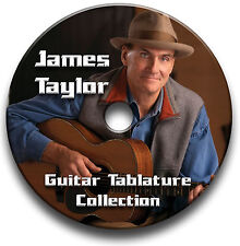 JAMES TAYLOR ROCK GUITAR TABS TABLATURE SONG BOOK SOFTWARE CD