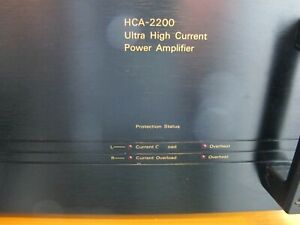 Parasound HCA-2200 Ultra High Current Power Amplifier, Kraftpaket+super Klang!