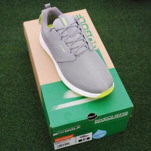 Skechers GoGolf Elite V.4 Golf Shoes - 54553- GYLM- Gray/ Lime - NEW