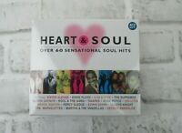 Heart and Soul 4 CD box set - 60 Soul Hits Songs  NEW sealed