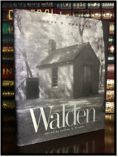 The Annotated Walden by Henry David Thoreau Brand New Illustrated Hardcover