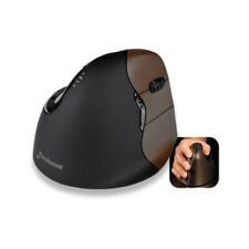 Evoluent Mouse VM4SW Vertical Ergonomic Design Top mounted LEDs Mouse