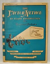 """1947 """"The Victor Method of Class Instruction"""" Oboe Music Book #1"""