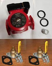 "Liquidus 25-10SFC 3 Speed Circulator Pump w/ Solder Flanged Ball Valves [1-1/4""]"