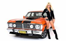 """Muscle car Girl Poster 24""""x 36"""""""