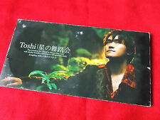 "TOSHI X JAPAN Hoshino Butoukai  3"" Japanese MINI CD Single JAPAN J-POP UK Seller"