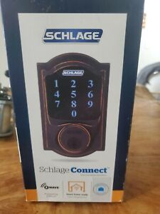 Schlage connect camelot touchscreen deadbolt