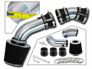 BCP BLACK 96-99 Chevy C1500 K1500 Suburban 5.0/5.7 V8 Air Intake Kit +Filter