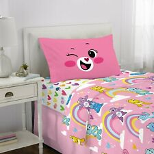 Twin Sheets Set for Girls Bedding Set 3Piece Crib Nursery Pink Room Decor