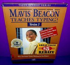 Mavis Beacon Teaches Typing Version 3 Windows Disk Brand New