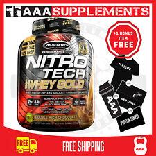 MuscleTech NITRO Tech 100 Whey Gold 6lb (2.27kg) Chocolate