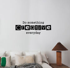 Creative Quote Wall Decal Motivation Words Vinyl Sticker Business Art Decor 36