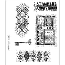 """Classics #3"" Stampers Anonymous by Tim Holtz"" 8.5""X7"""