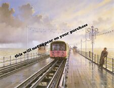 Mounted Print.  Southend Pier Railway.  Malcolm Root