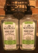 J. R. Watkins Liquid Hand Soap - Aloe & Green Tea - 11 oz - 2 pk