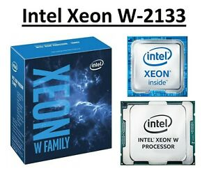 Intel Xeon W-2133 SR3LL 3.6 - 3.9 GHz, 8.25MB, 6 Core, Socket LGA2066, 140W CPU