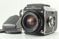 RARE NEAR MINT ZENZA BRONICA EC-TL II w/ Nikkor H・C 75mm f/2.8 Lens From Japan