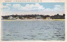 Sebago Lake, Me - Thompsons at Mouth of Songo River