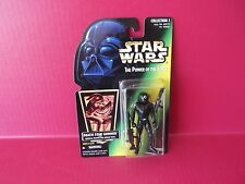 "Star Wars Power of the Force Death Star Gunner 4""in Figure  Kenner 1996 Hasbro"