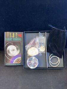 Tom Kuhn SB-2 Ball Bearing Yo-Yo. Played With. Light Scuffing. Pouch & Box