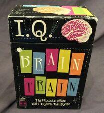 I.Q. IQ Brain Train Logic Puzzle Game Lagoon Group Age 10+