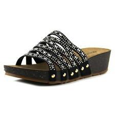 Sandalias y chanclas de mujer de tacón bajo (menos de 2,5 cm) de sintético talla 38