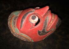 "New listing An Excellent Antique Klana Wayang Topeng Java, Indonesian Dance Mask 7 5/8"""