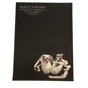 "VINTAGE Harvey Edwards Zeitlin BALLET SLIPPERS LITHOGRAPH PRINT 1979 31""x 23"""