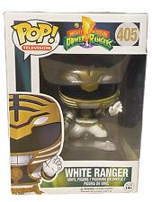 Funko POP Power Rangers White Ranger 405 vaulted In Protector