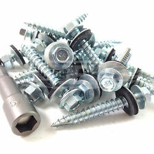 1000, 45mm CORRUGATED ROOFING / CLADDING SCREW & WASHER
