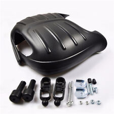 2* Big Size Motorcycle Hand Guard with Its kits  Black PP plastic anti-collision