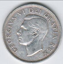 1948 Canadian Silver Dollar. Canada'a Rarest Dollar!