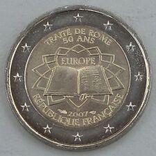 2 Euro Frankreich 2007 Römische Verträge unz