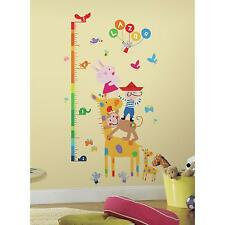 LAZOO GROWTH CHART WALL STICKERS BiG Colorful Room Decals NEW Kids Room Decor