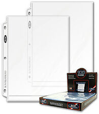 10 BCW 8 X 10 Photo Binder Pages