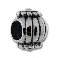 GENUINE CARLO BIAGI 925 SILVER BALL LINE CIRCLE BEAD CHARM for European Bracelet