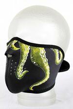 Face Mask Octopus Davey Jones Halb Gesichtsschutz Maske Sturmhaube Schutzmaske