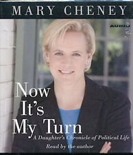 Audio book - Now It's My Turn by Mary Cheney   -  CD   -   Abr