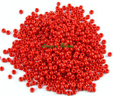 11/0 Round Toho Japan Glass Seed Beads #45-Opaque Pepper Red 15 grams
